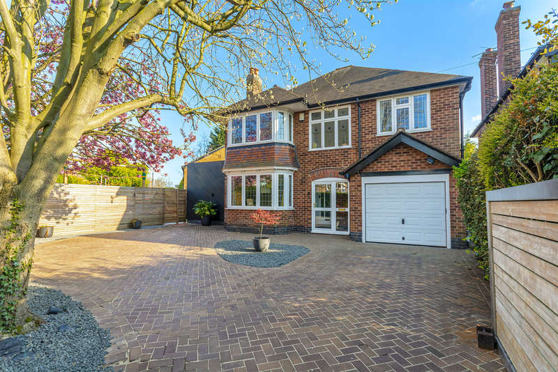 4 Bedrooms Detached House for sale in Priory Road, West Bridgford, NG2 5HX