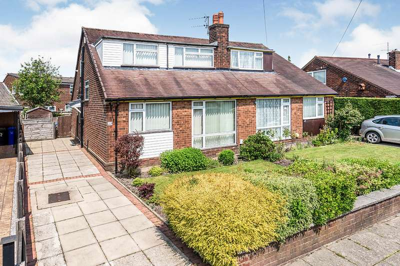 4 Bedrooms Semi Detached Bungalow for sale in Moss Bank Road, Wardley, M27