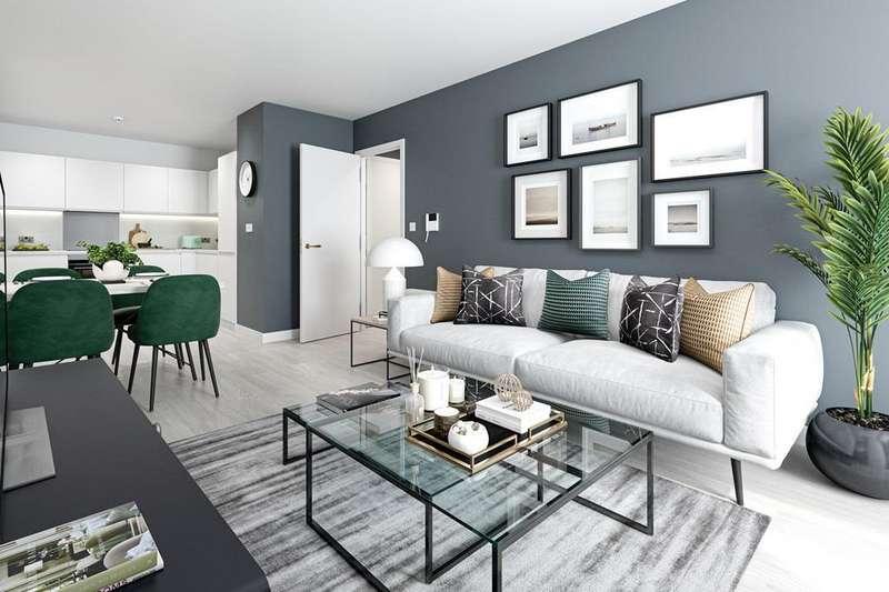 1 Bedroom Flat for sale in Raine House, New Market Place, Pilgrims Way, East Ham, LONDON, E6 1HW