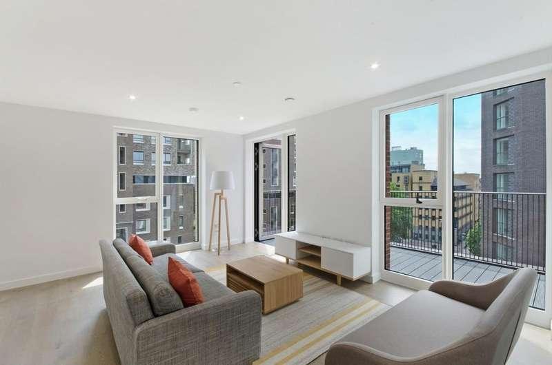 2 Bedrooms Flat for rent in Levy Building Elephant Park, Elephant & Castle, London, SE17 1FU