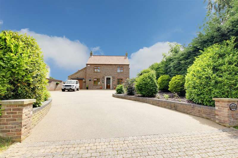 4 Bedrooms Detached House for sale in Newbridge Lane, Covenham St. Mary, Louth