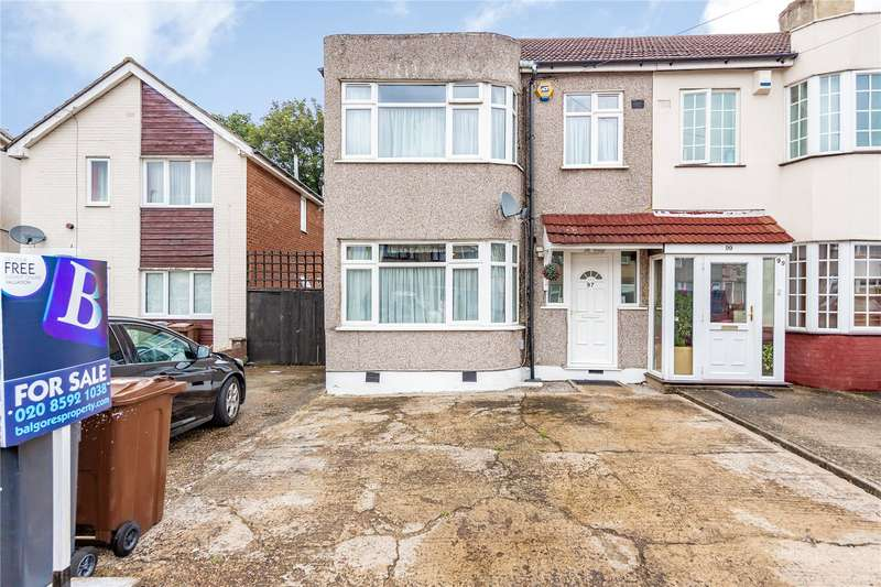 3 Bedrooms End Of Terrace House for sale in Stanley Avenue, Dagenham, RM8