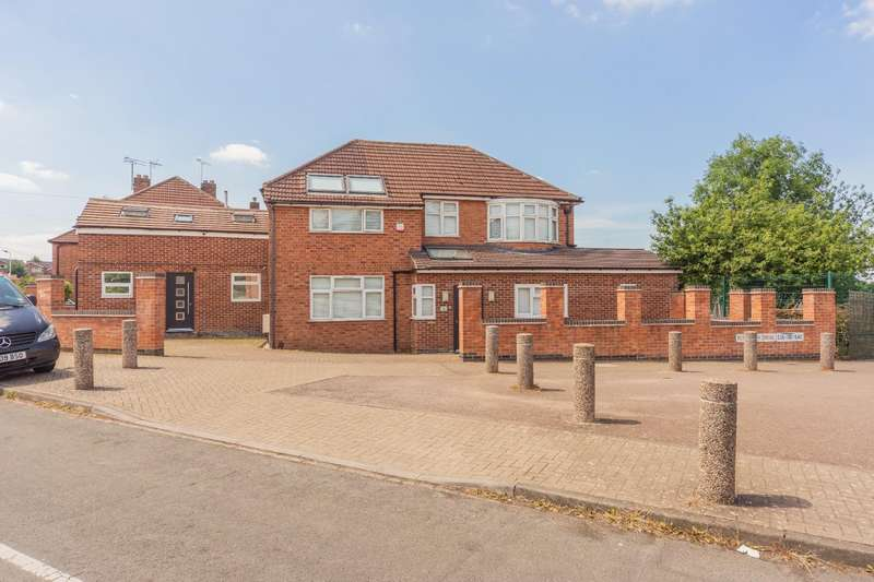 5 Bedrooms Detached House for sale in Plymouth Drive, Leicester