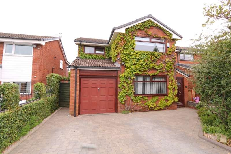 4 Bedrooms Detached House for sale in Thorneside, Denton, Manchester, M34