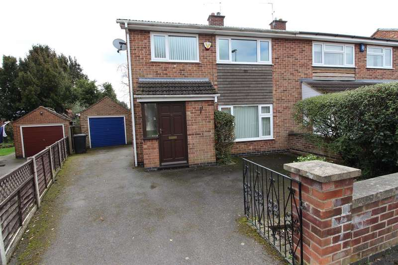 3 Bedrooms Semi Detached House for rent in Anchor Close, Hathern, Loughborough