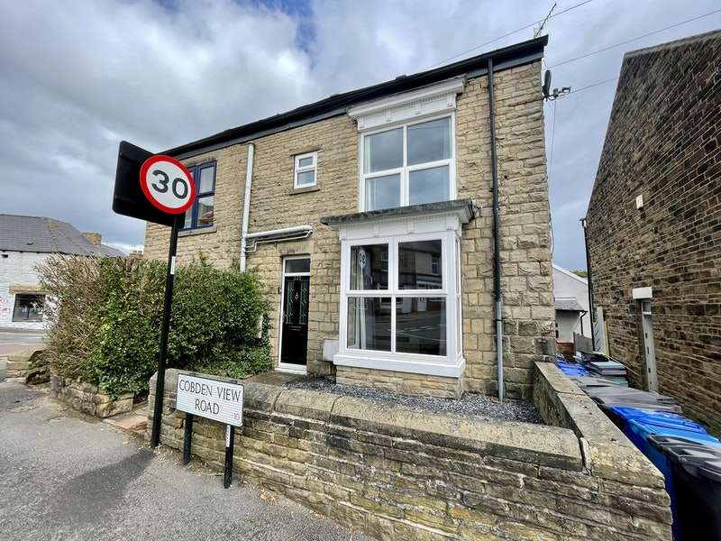 2 Bedrooms Semi Detached House for sale in Cobden View Road, Crookes, Sheffield, South Yorkshire, S10