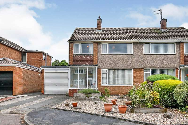 3 Bedrooms Semi Detached House for sale in Oxfordshire Drive, Belmont, Durham, DH1