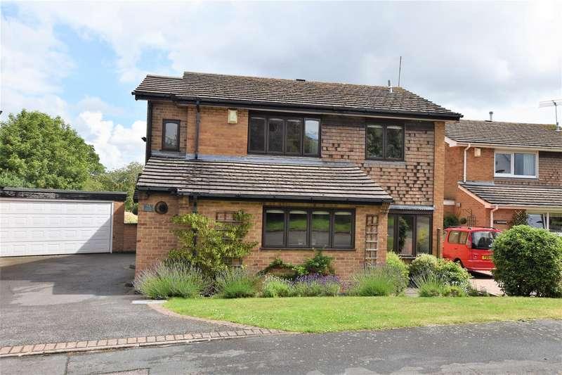 4 Bedrooms Detached House for sale in Longcliffe Gardens, Nanpantan, Loughborough