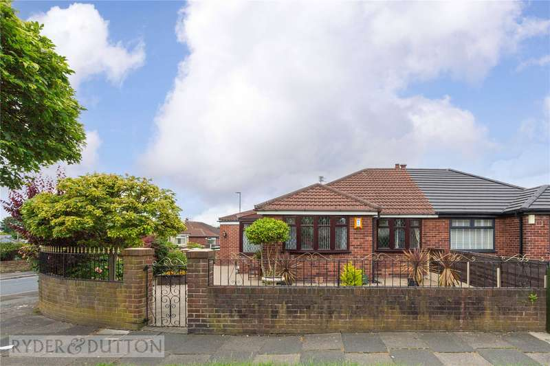 3 Bedrooms Detached Bungalow for sale in Corporation Road, Denton, Manchester, Greater Manchester, M34