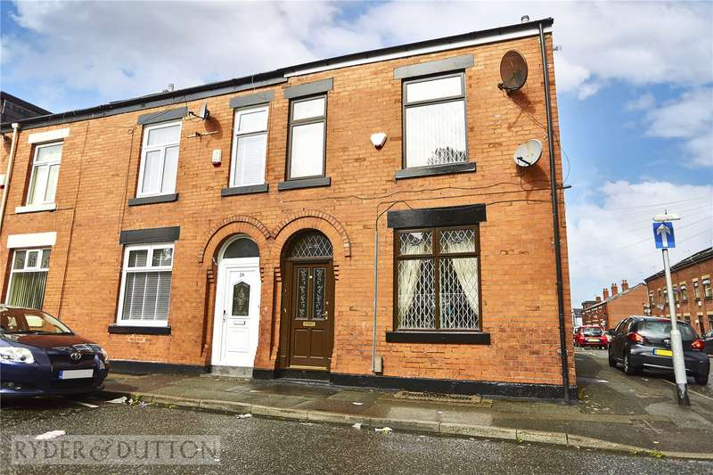 3 Bedrooms End Of Terrace House for sale in Hare Street, Deeplish, Rochdale, Greater Manchester, OL11