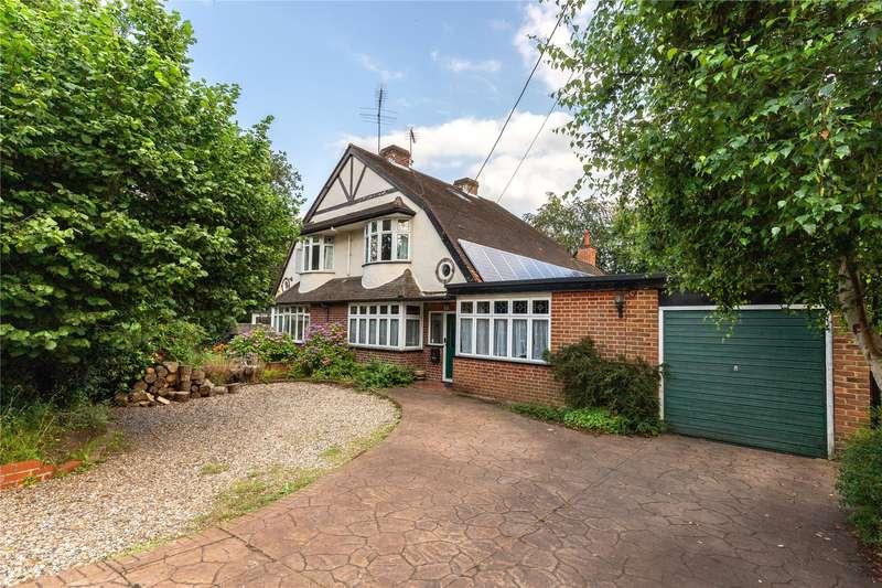 4 Bedrooms Semi Detached House for sale in Woodlands Avenue, Wokingham, Berkshire, RG41