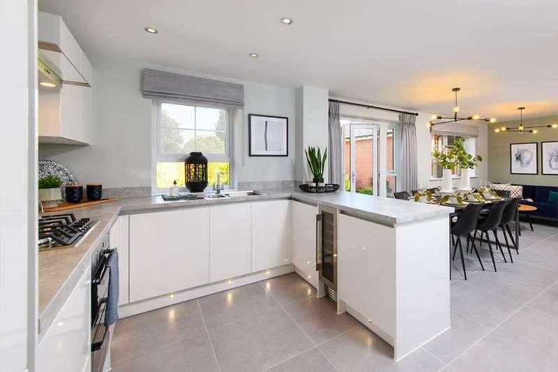 4 Bedrooms House for sale in Radleigh, Wigston Meadows, Newton Lane, Wigston, WIGSTON, LE18 3SH