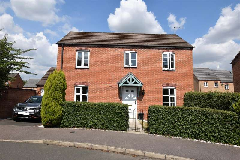 3 Bedrooms Detached House for sale in Mendel Drive, Loughborough