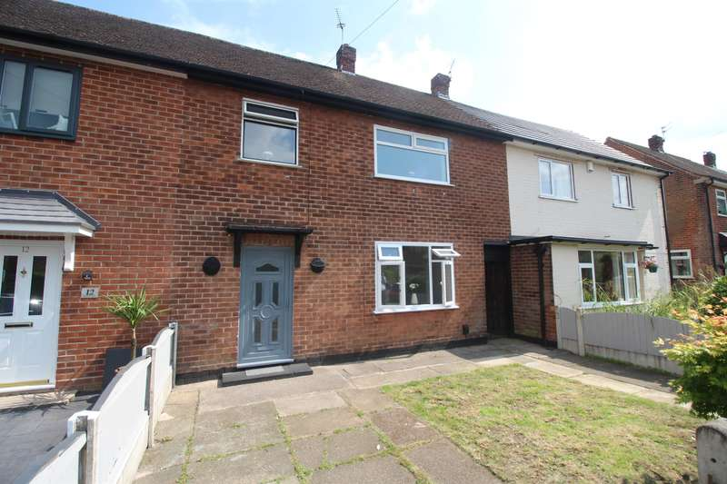 3 Bedrooms Terraced House for sale in Blackwood Drive, Manchester, M23 9FF