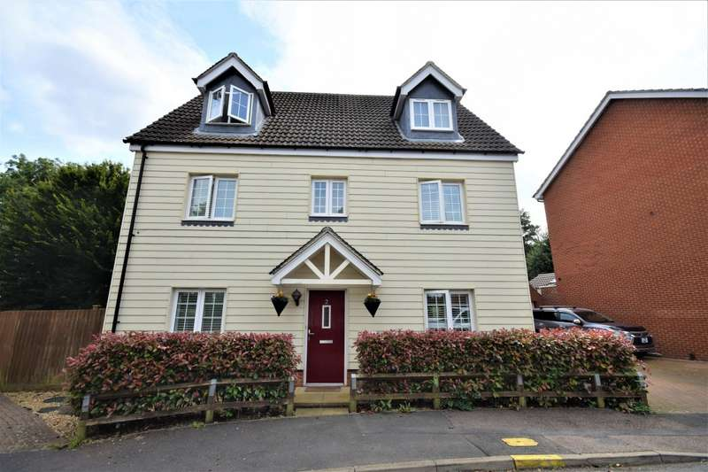 5 Bedrooms Detached House for sale in Jordon Close, Stansted Mountfitchet.