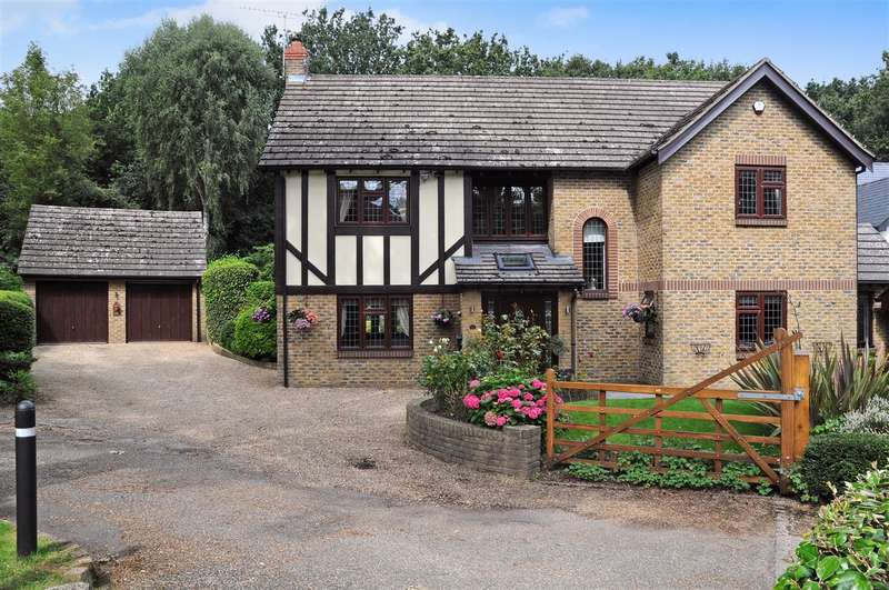 4 Bedrooms Detached House for sale in Baymans Wood, Shenfield