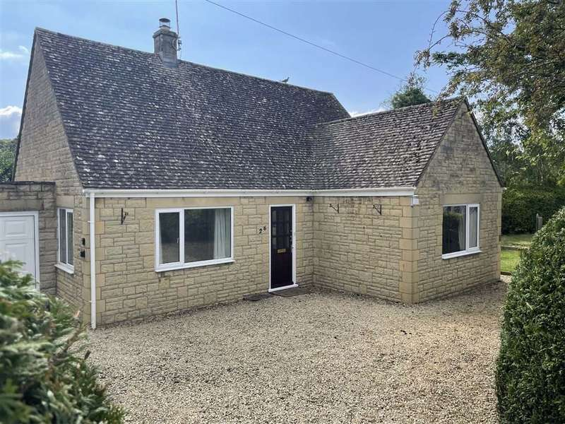 2 Bedrooms Detached Bungalow for sale in Springfield, Bourton-on-the-Water, Gloucestershire