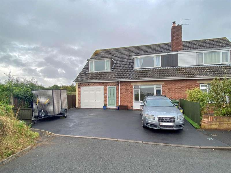 4 Bedrooms Semi Detached House for sale in Howmead, Berkeley, GL13 9AS