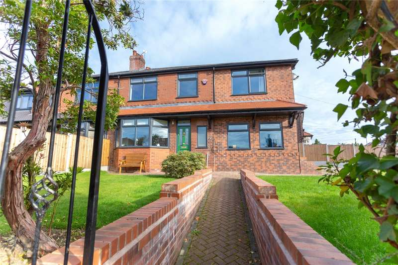 4 Bedrooms Semi Detached House for sale in Lambton Road, Worsley, Manchester, M28