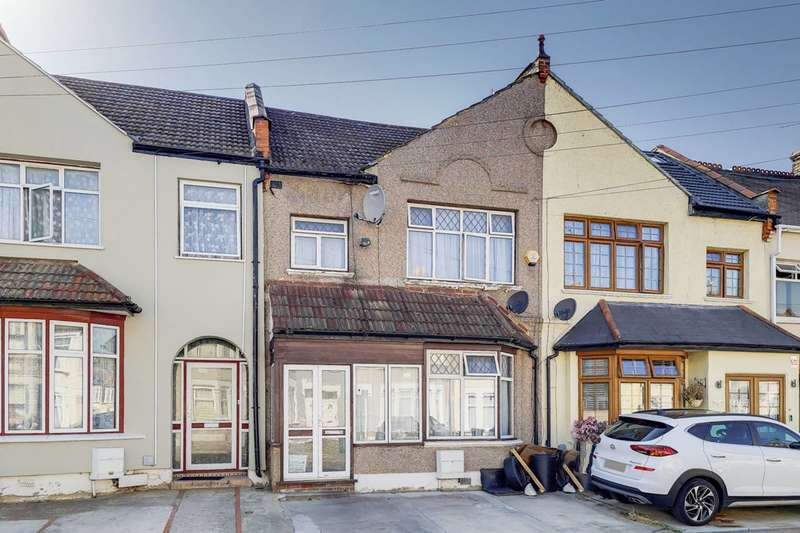 3 Bedrooms Terraced House for sale in Sandyhill Road, Ilford, IG1