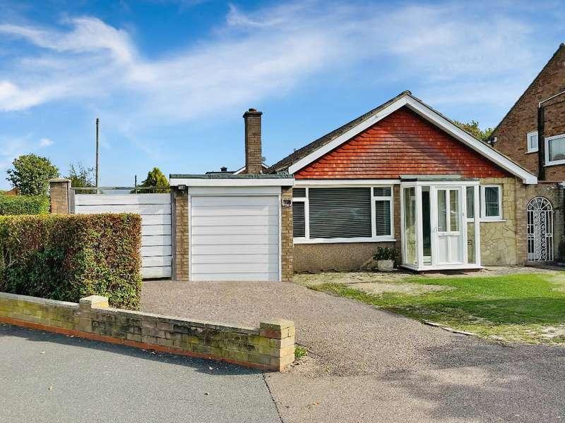 3 Bedrooms Detached Bungalow for sale in Heronscroft, Bedford, MK41 9ND