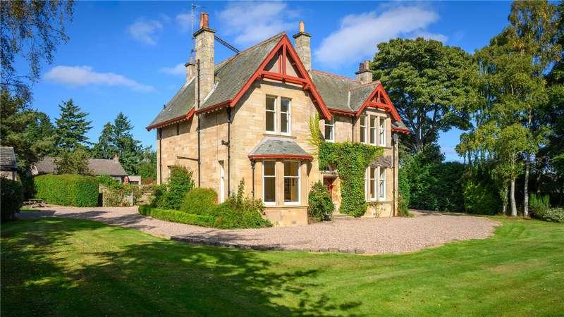 5 Bedrooms Detached House for sale in Kintore, Westfield Road, Cupar, Fife, KY15