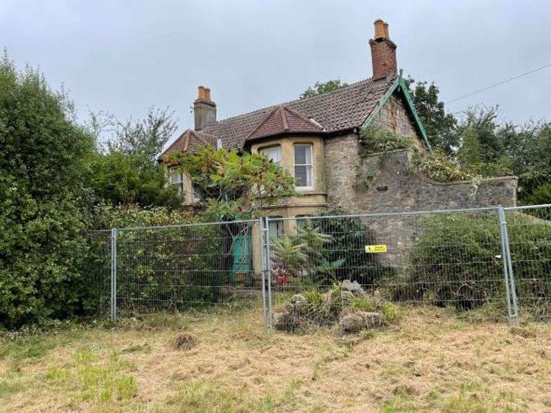 Property for sale in Bishopswell Farm, Claverham - Derelict former farmhouse and outbuildings in 0.90 acres