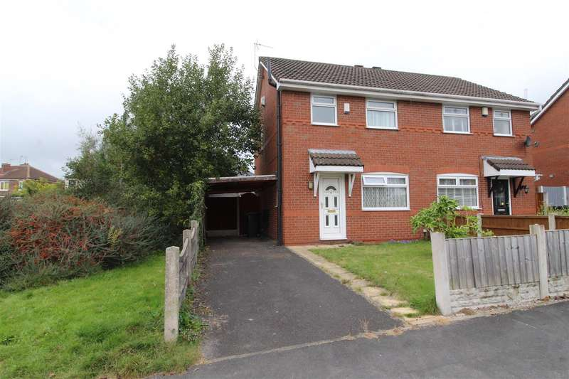 2 Bedrooms Semi Detached House for sale in Sandway, Springfield, Wigan, WN6 7SF