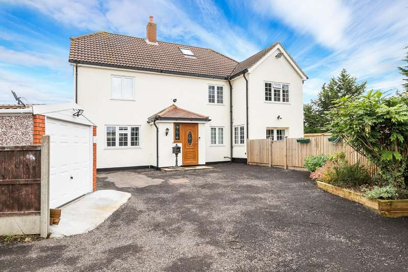 4 Bedrooms Semi Detached House for sale in Coopersale Lane, Theydon Bois, Epping