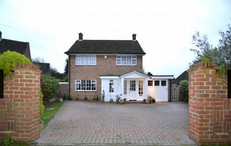 4 Bedrooms Detached House for sale in Western Close, Witham, Essex, CM8