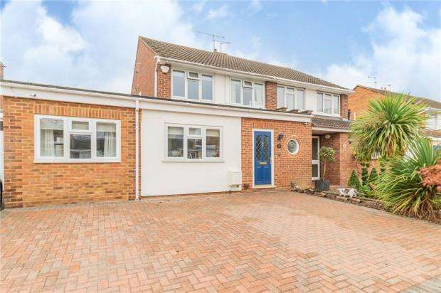 4 Bedrooms Semi Detached House for sale in Kingsfield, Windsor, Berkshire