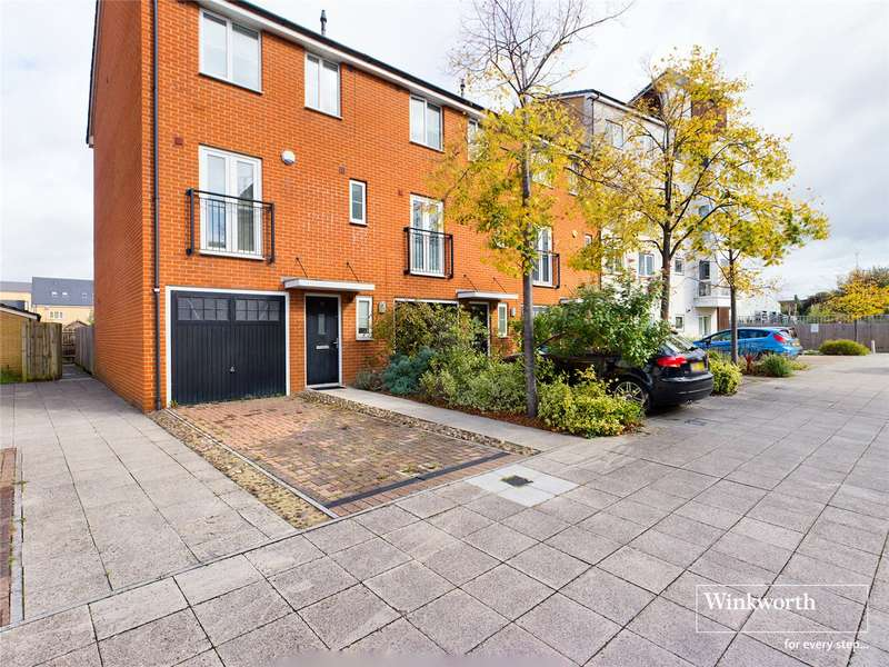 4 Bedrooms Town House for sale in Gweal Avenue, Reading, RG2