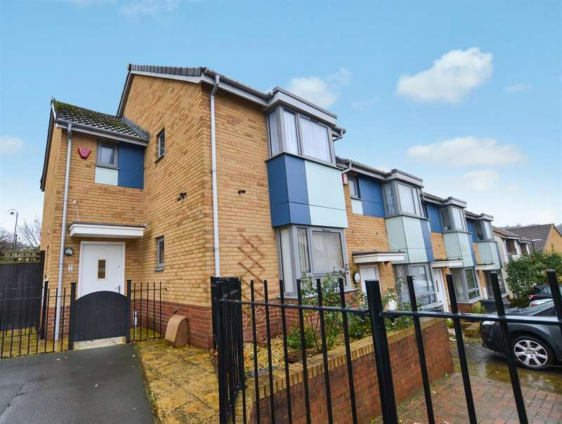 2 Bedrooms End Of Terrace House for sale in The Groves, Bristol, BS13 0AF