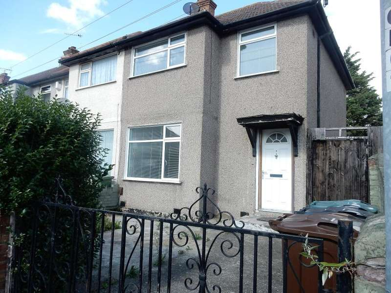 3 Bedrooms End Of Terrace House for rent in Orchard Road, Dagenham, Essex, RM10 9PT