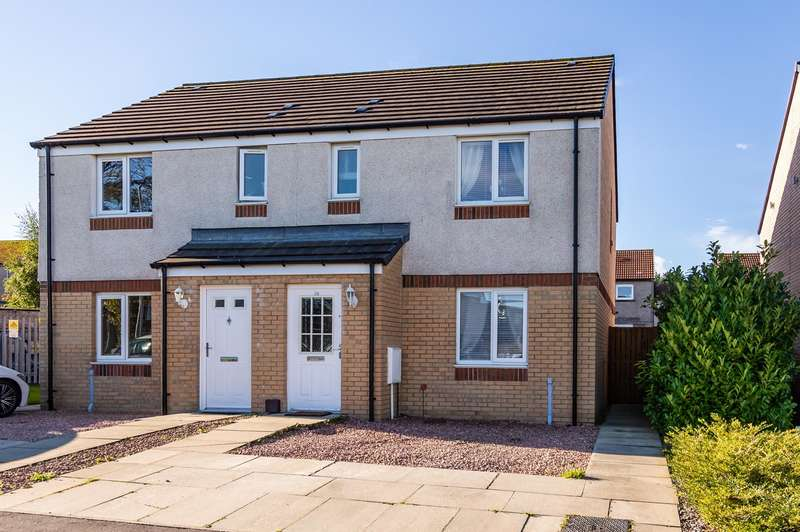 3 Bedrooms Semi Detached House for sale in Woodmill Grove, Dunfermline, KY11