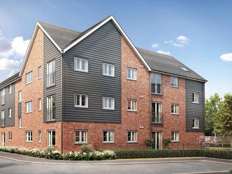 2 Bedrooms Flat for sale in 1 Bed Apartment (Blocks D E), Castellum Grange, Mason Road, Colchester, CO1 1XX