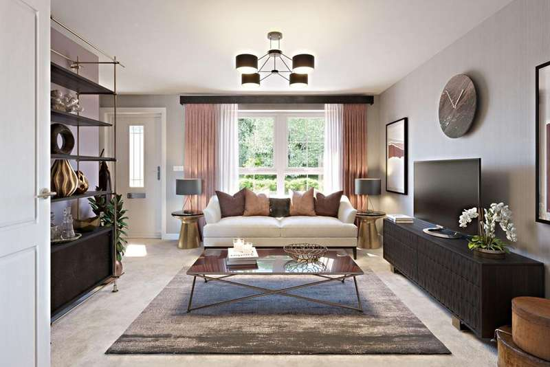3 Bedrooms House for sale in Woodbury, Waddow Heights - Barratt, Waddington Road, Clitheroe, BB7 2JD