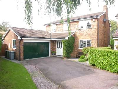 4 Bedrooms Detached House for sale in POYNTON (TEWKESBURY CLOSE)