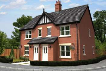 3 Bedrooms Semi Detached House for sale in Bennetts Mill Close, Woodhall Spa