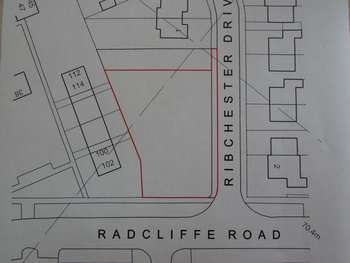 Land Commercial for sale in Ribchester Drive, Bury - Land with planning for 5 houses