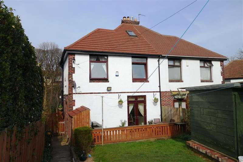 3 Bedrooms Semi Detached House for sale in Somerset Road, Almondbury, Huddersfield , HD5 8LP