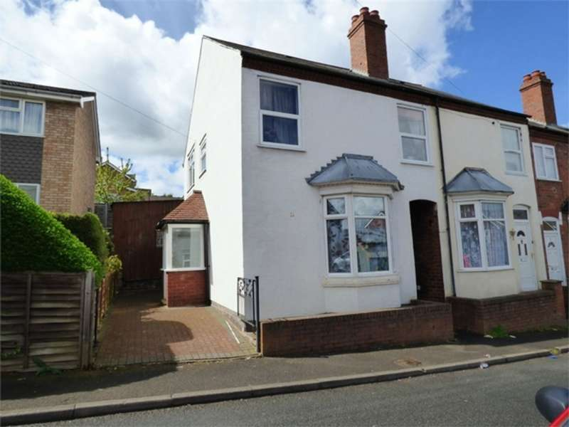 3 Bedrooms End Of Terrace House for sale in Star Street, Stourbridge, West Midlands