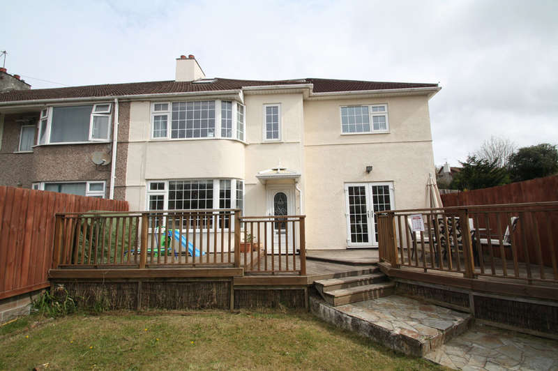 4 Bedrooms End Of Terrace House for sale in Hillside Crescent, Plymstock.