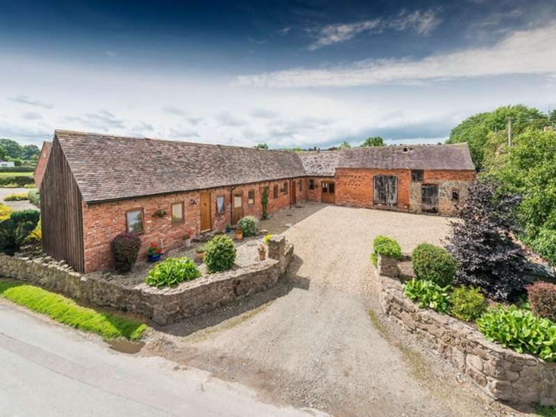 3 Bedrooms Barn Conversion Character Property for sale in Church View Farm, Hughley, SHREWSBURY, Shropshire
