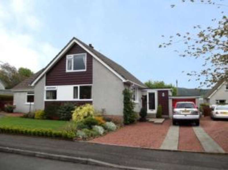 4 Bedrooms Detached House for sale in Huggincraig Road, Newmilns, East Ayrshire