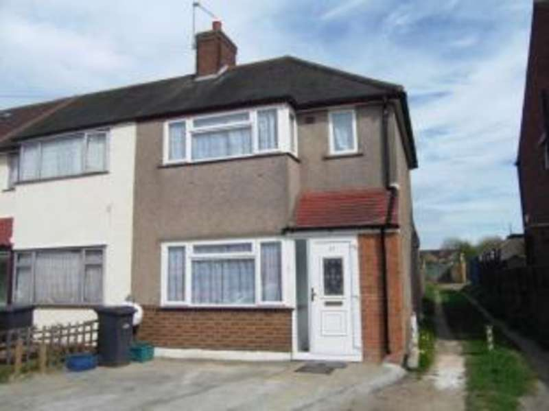 2 Bedrooms End Of Terrace House for sale in Bankside, Southall