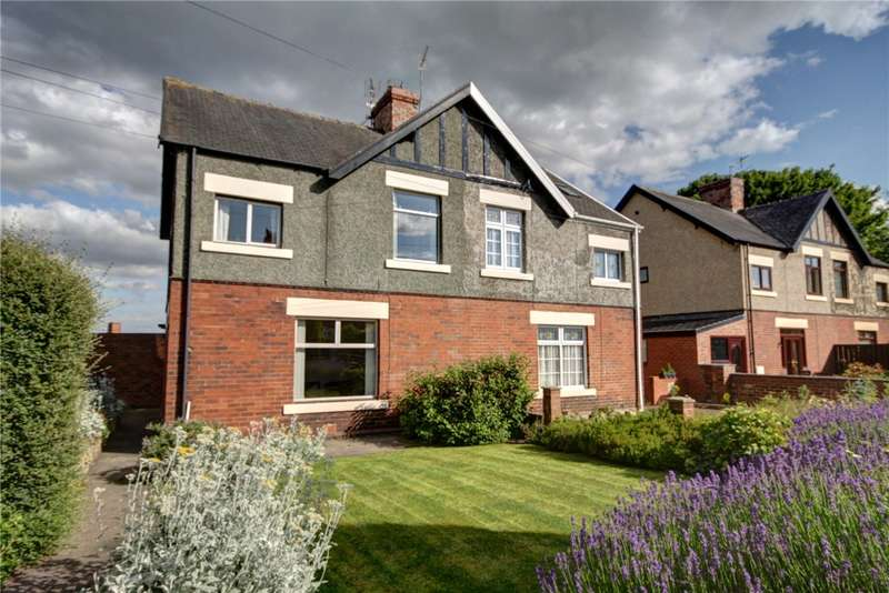 3 Bedrooms Semi Detached House for sale in Cooperative Villas, Langley Moor, Durham, DH7