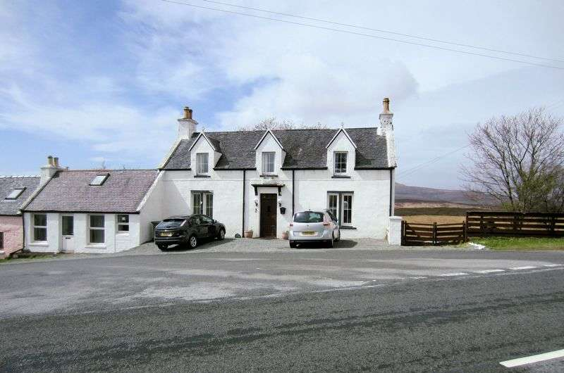 4 Bedrooms Cottage House for sale in KENSALROAG HOUSE: 4 Beds, character, annex, NW Skye
