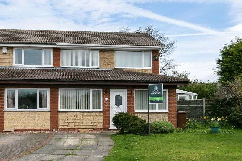 3 Bedrooms Semi Detached House for sale in Averham Close, Ashton-in-Makerfield, WN4 9PR