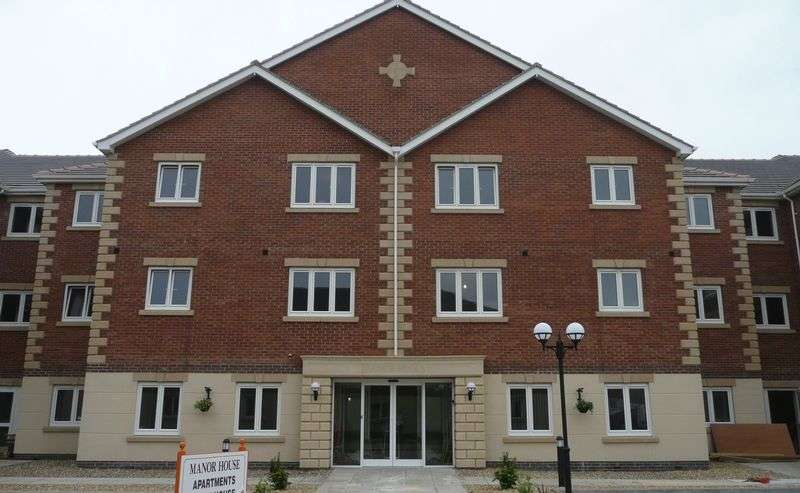 2 Bedrooms Flat for sale in Manor House, Harpham Close, Scunthorpe